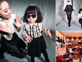 Mother Holds Dress Show For Her Daughter's Two Years Birthday